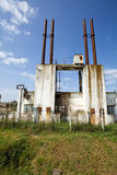 Industrial buildings decay Royalty Free Stock Photography
