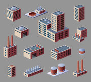 Industrial buildings Royalty Free Stock Photo