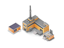Industrial buildings and factory.  on the Stock Images