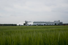 Industrial buildings. Stock Photography