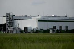Industrial buildings. Royalty Free Stock Image