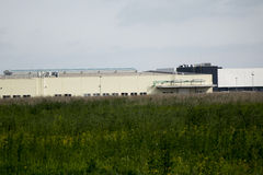 Industrial buildings. Royalty Free Stock Photography