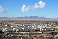 Salt Lake City, Utah. Industrial buildings in North Salt Lake Royalty Free Stock Photography