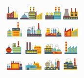 Industrial buildings Royalty Free Stock Image