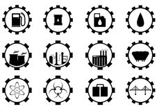 Industrial and business icons Stock Photo