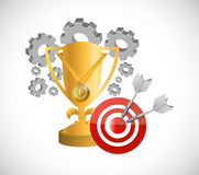 Industrial business mission and award Royalty Free Stock Photography