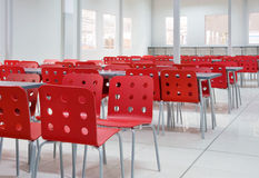 Industrial canteen Royalty Free Stock Photo