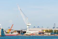 Industrial Cargo Port Royalty Free Stock Photos