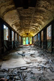 Industrial carriage interior Stock Photography