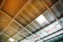 Industrial Ceiling Royalty Free Stock Image