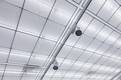 Industrial ceiling Royalty Free Stock Photos