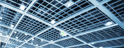 Industrial ceiling Stock Photo