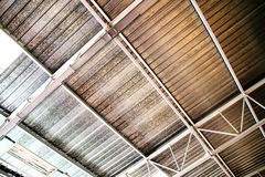 Industrial Ceiling Stock Image