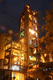Industrial cement manufacturing Stock Photography
