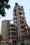 Industrial cement manufacturing Royalty Free Stock Photos