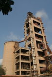 Industrial cement manufacturing Stock Images