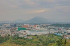 Industrial Centre at Wang Chau Royalty Free Stock Photo
