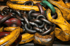Industrial Chain Royalty Free Stock Images