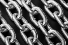 Industrial chains Stock Image