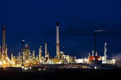 Industrial chemical complex Stock Images