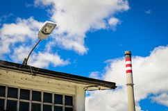 Industrial Chimney Stock Images
