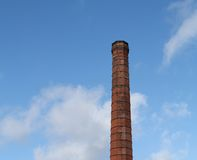 Industrial Chimney. Royalty Free Stock Photography