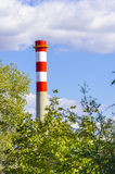 Industrial chimney Royalty Free Stock Photos