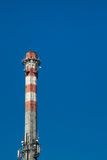 Industrial chimney with GSM relays Stock Photos
