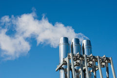 Industrial chimney Royalty Free Stock Photo