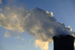 Industrial chimneys Royalty Free Stock Photo