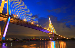 Industrial Circle Bridge in Bangkok, Thailand at t Royalty Free Stock Images