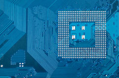 Industrial circuit board electronic background Stock Photos