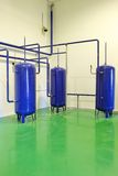 Industrial cisterns Stock Photos