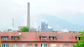 Industrial city in Bosnia no.1 Stock Photo