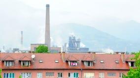 Industrial city in Bosnia no.1 Stock Photo