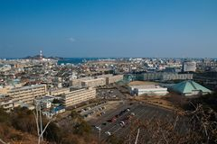 Industrial city in Japan Royalty Free Stock Photography