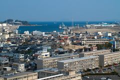 Industrial city in Japan Stock Photo
