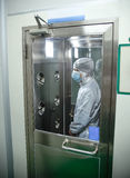 Industrial cleanroom Stock Photo
