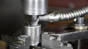 Industrial CNC machine Royalty Free Stock Photos