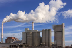 Industrial cogeneration Stock Photography