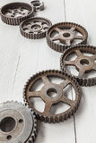 Industrial cogwheels Royalty Free Stock Photo