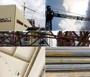 Industrial collage Stock Photography