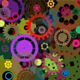 Industrial  colorful background design Royalty Free Stock Photos