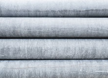 Industrial concrete pipes texture Royalty Free Stock Photos