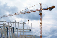 Industrial construction Royalty Free Stock Photo