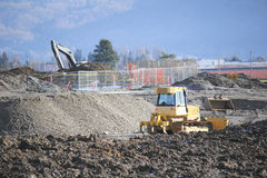 Industrial Construction Royalty Free Stock Photography