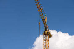 Industrial Construction Crane On Blue Sky Royalty Free Stock Photo
