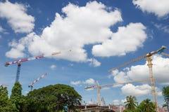 Industrial construction crane Royalty Free Stock Photo