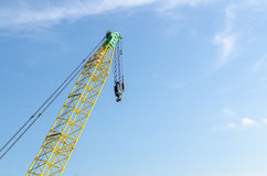 Industrial construction crane are operating Royalty Free Stock Images