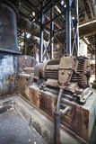 Industrial construction and machines in old Factory, Germany Royalty Free Stock Photography